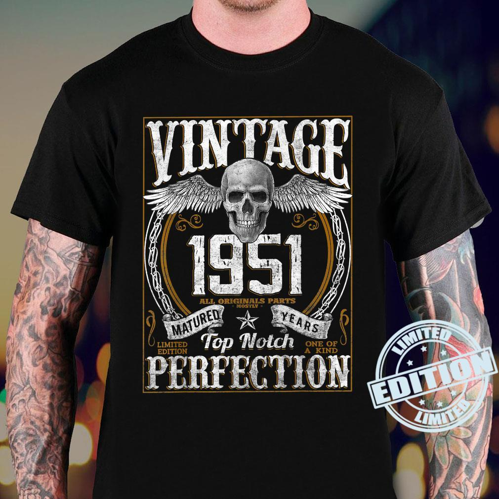 Vintage 1951 Limited Edition 1951 70 years old 70th Birthday Shirt sweater